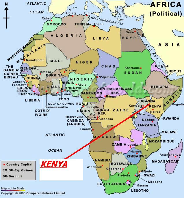 Central And Southern Africa Natural Resources